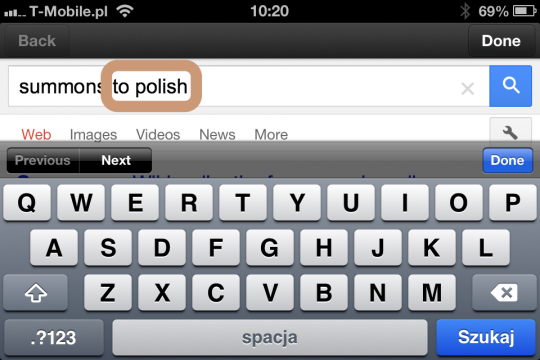 How to quickly translate words in Kindle app