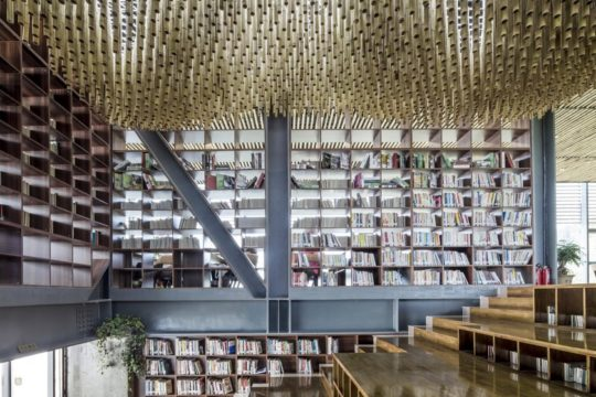 Riverside Library in Tongling, China - inside
