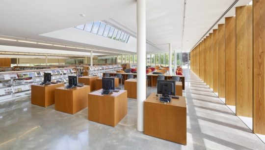 The Waterdown Library and Civic Centre - inside