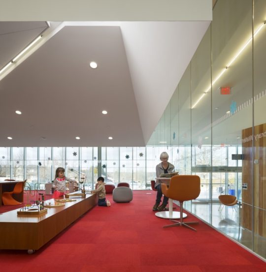The Waterdown Library and Civic Centre - play room