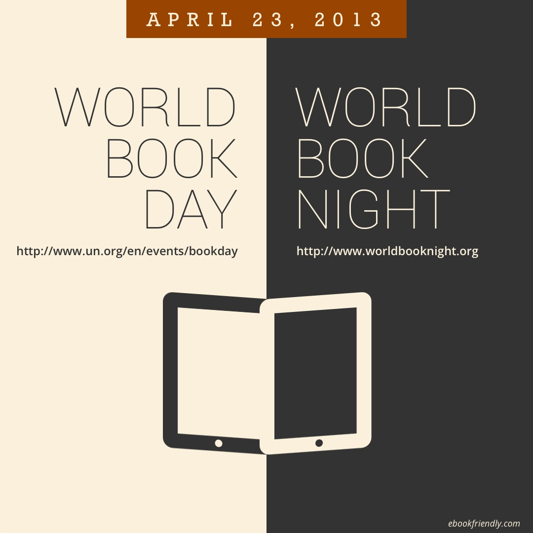 8 Ways Ebook Lovers Can Celebrate World Book Day & World Book Night 2013