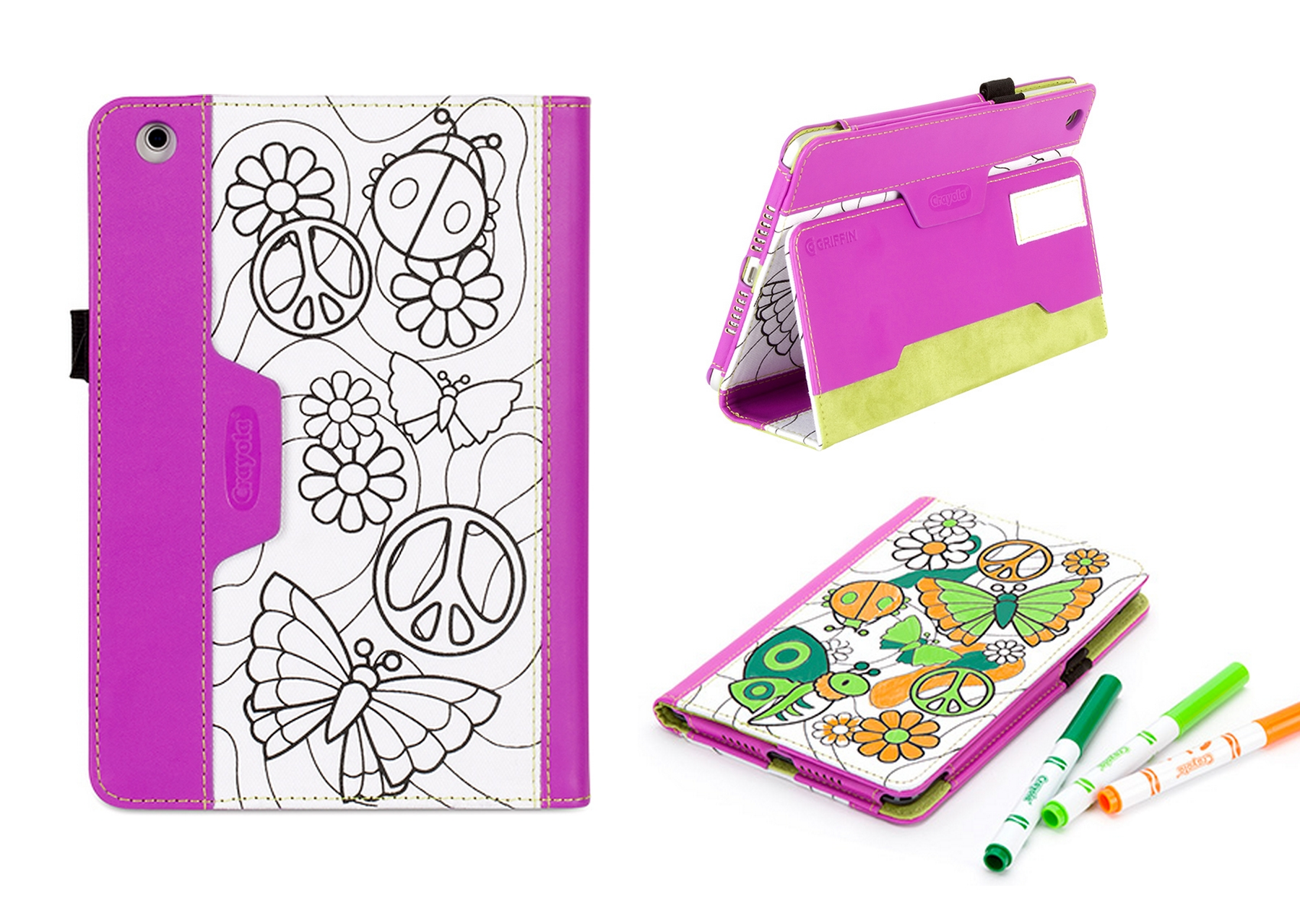 Griffin Crayola Color-A-Case Folio Case for iPad Mini