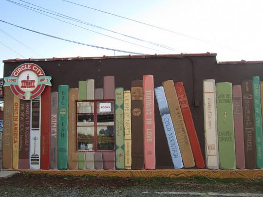 Street art - Bookstore Mural