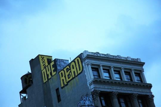 Street art - Oye Read