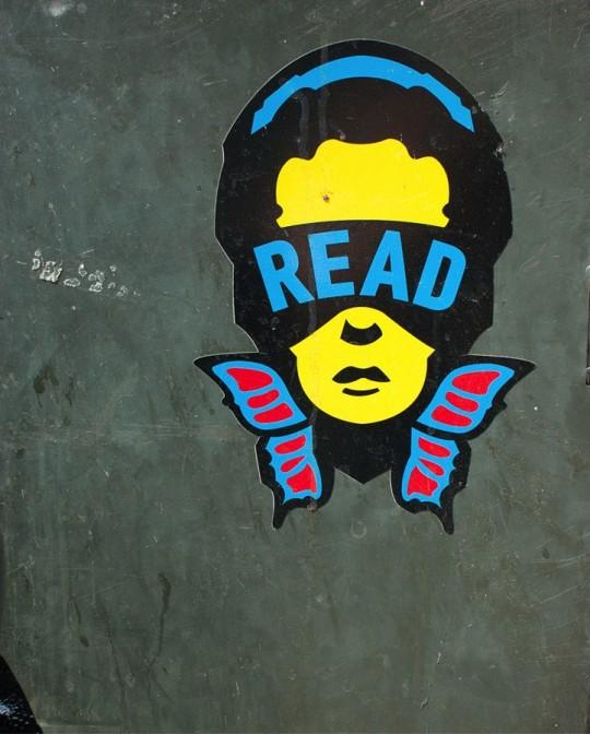 Street art - Read - Jay Giroux
