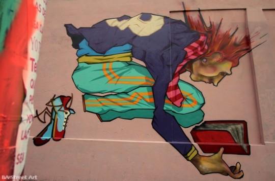 Arte de rua - Leitura Punk