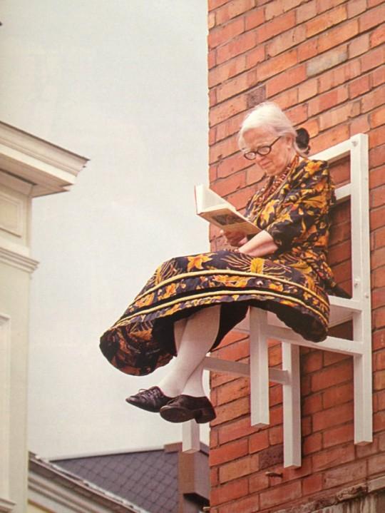 Street art - X-Times People Chair