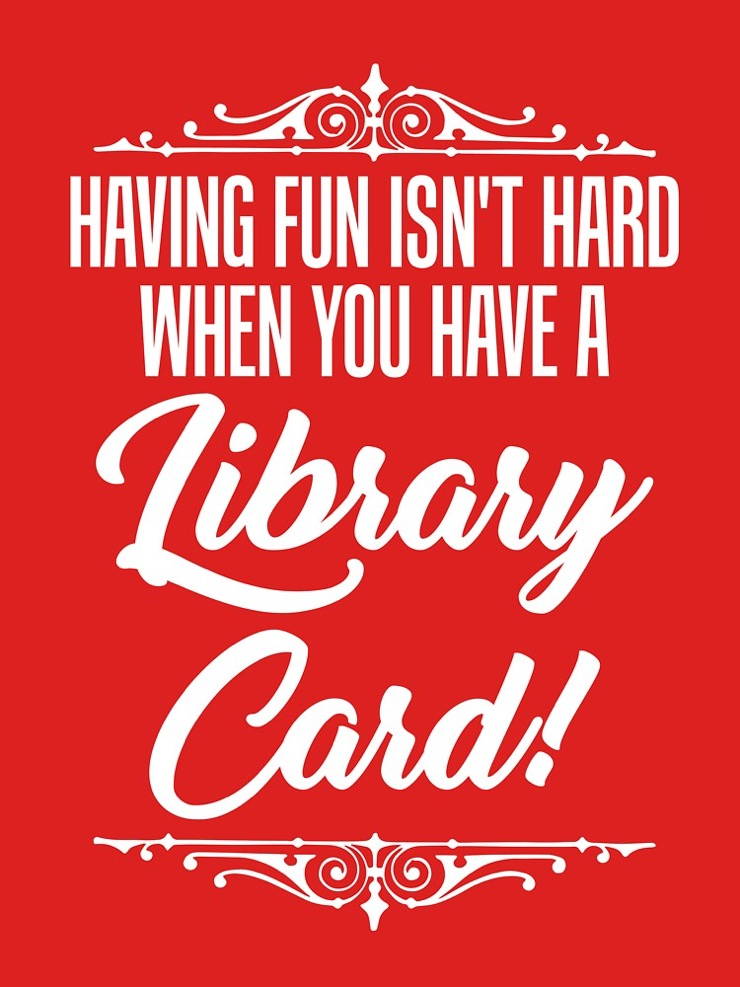 Best quotes about books: Having fun isn't hard when you've got a library card. –Marc Brown