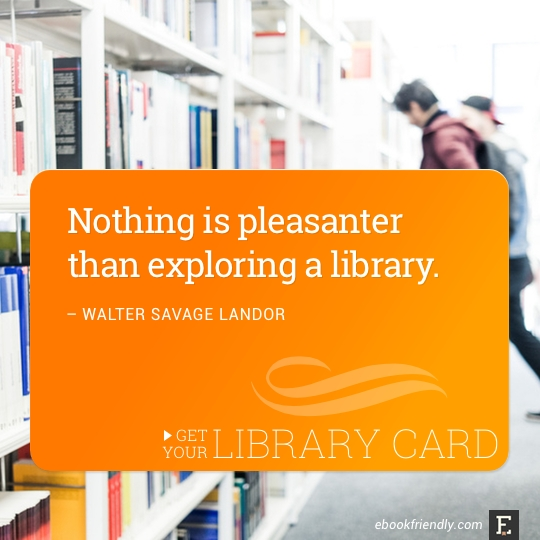 Nothing is pleasanter than exploring a library. –Walter Savage Landor #library #quote