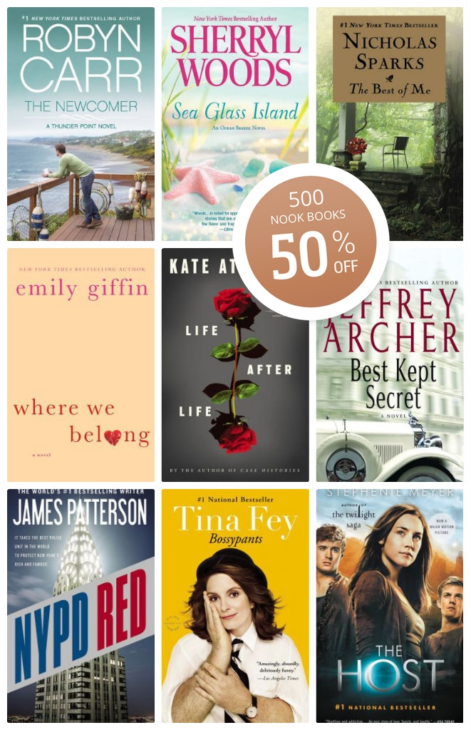 Nook Book Sale
