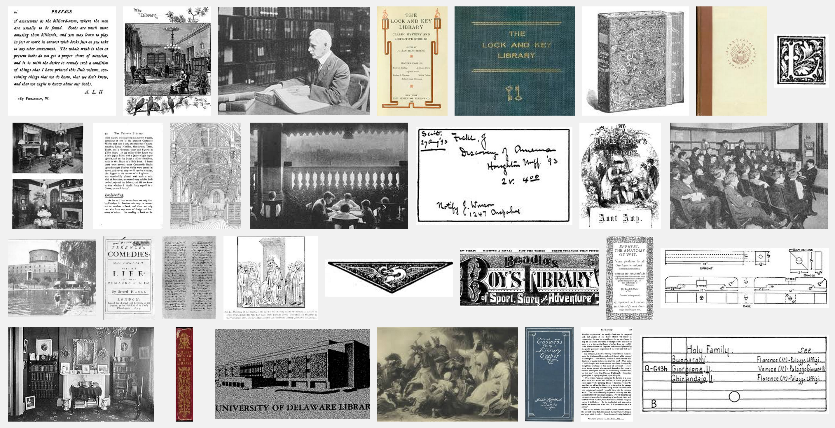 How to find images in public domain ebooks