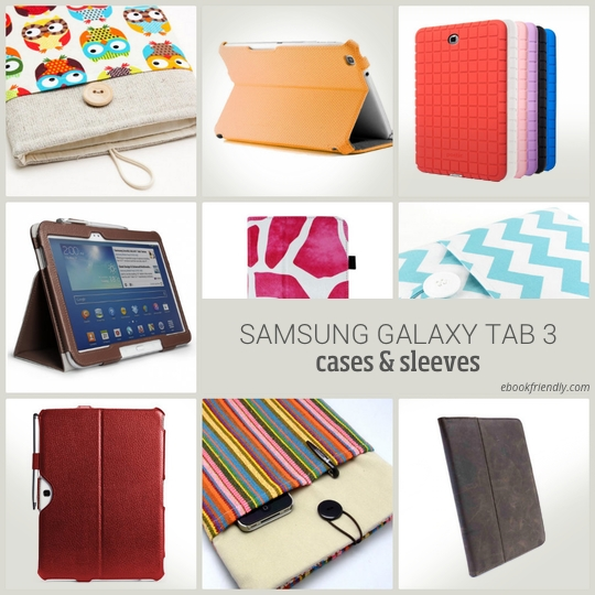 Samsung Galaxy Tab case covers and sleeves