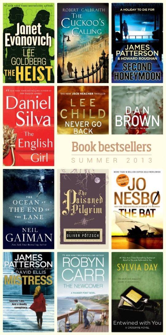 Book bestsellers of summer 2013