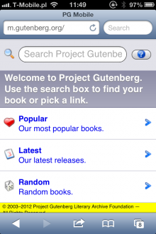 8 tips and tricks to get the most of project gutenberg project gutenberg mobile site fandeluxe Choice Image