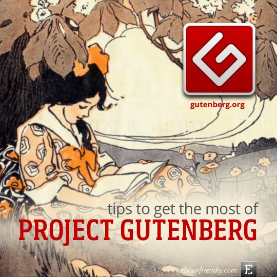 Project Gutenberg tips