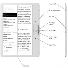 Reading Serenely ergonomic ereader - picture 3