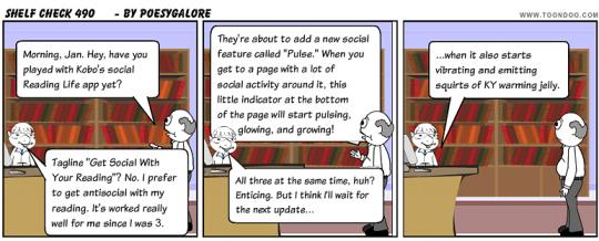Shelf Check 490 - library cartoon by Emily Lloyd
