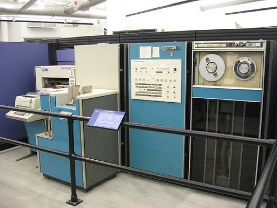 Xerox Sigma V - a computer on which the first ebook in the world was created