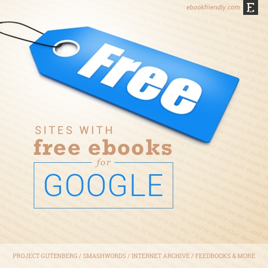 Free ebooks for Google Nexus