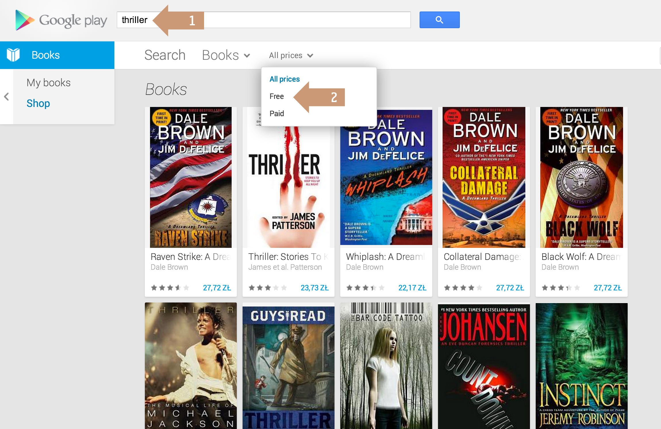 3 ways to find free ebooks on Google Play