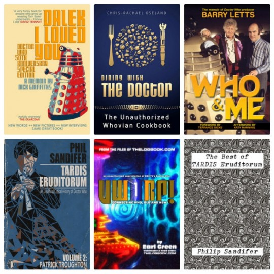 The Unofficial Doctor Who ebook bundle from StoryBundle