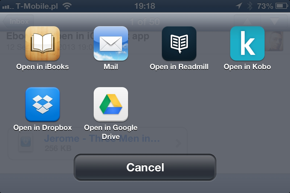 3 ways to add own ebooks to any iOS book reading app