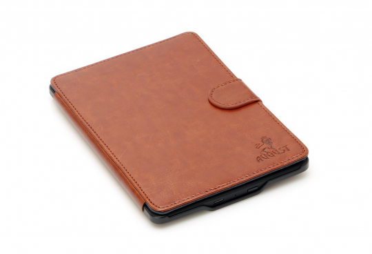 August Lion Leather Hard Case Cover for Kindle Paperwhite