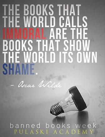 Banned Books Week Pulaski Academy