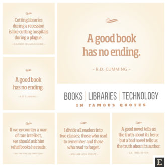 Best quotes about books, libraries, technology