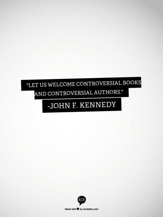 Controversial Books John F Kennedy