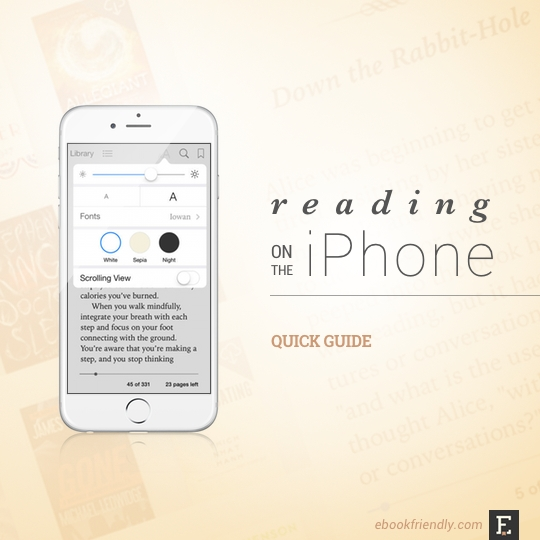 Quick guide to using iphone as e reader fandeluxe Images