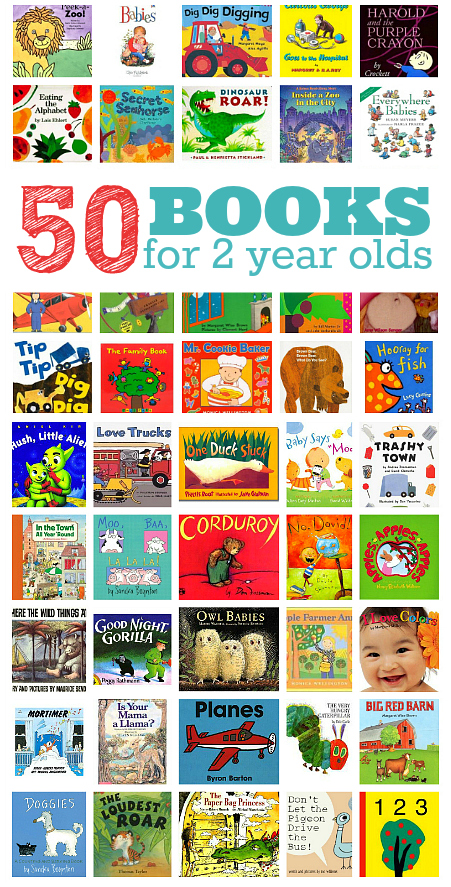 50 books for kids infographic
