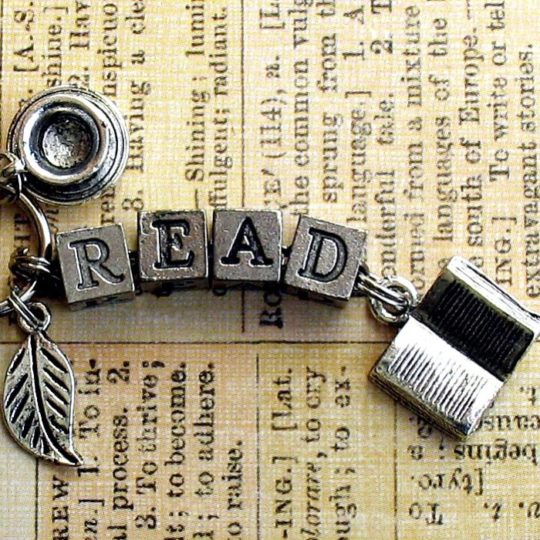 A Likely Story literary gifts - Read key ring