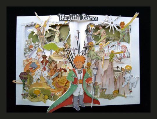 Artful Living book sculptures - The Jungle Book