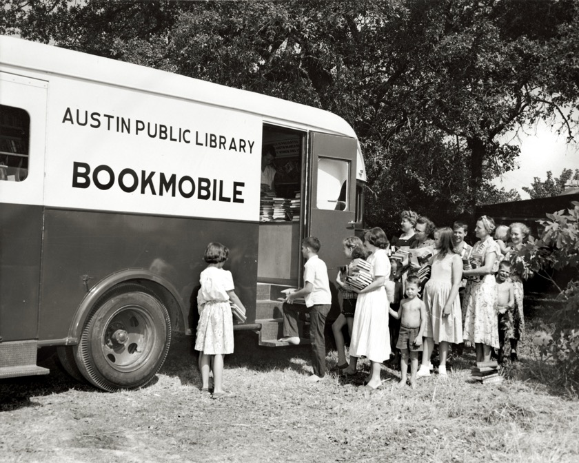 Austin Public Library Bookmobile