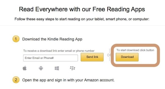 amazon kindle pc software download