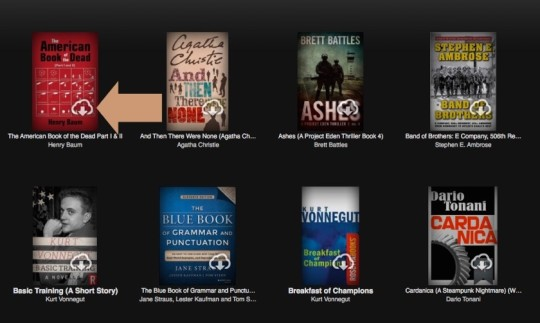 Back up Kindle books - how to spot the archived books