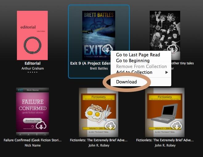 Back up Kindle books using Kindle desktop app