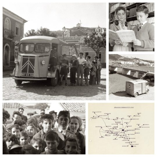Bookmobiles of Gulbekian Foundation, Portugal, 1958-2002