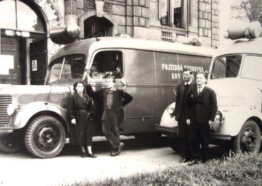 Bookmobiles of the Pilsen Public Library 1950s