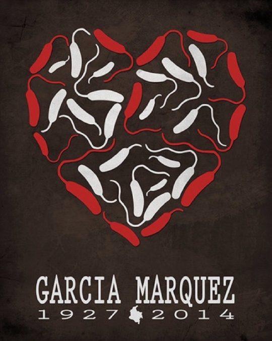 Creative Daffodil literary posters - Gabriel Garcia Marquez