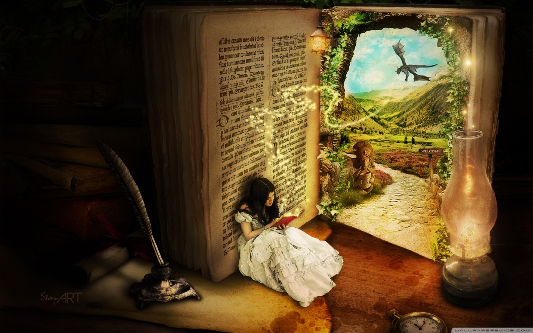 Desktop tablet book wallpapers - The Book of Secrets