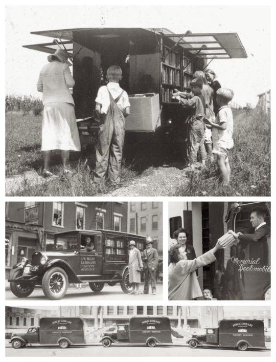 Documenting the bookmobile service of the Public Library of Cincinnati & Hamilton County