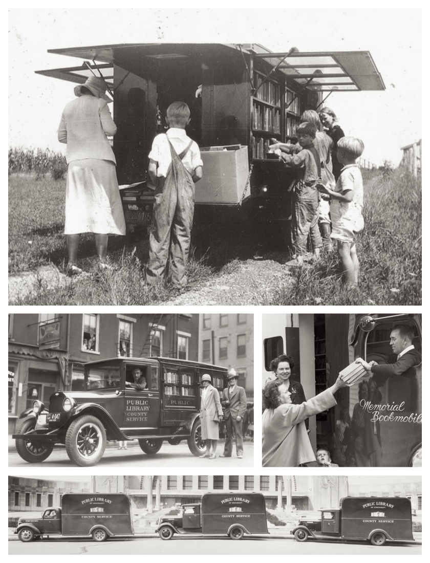 Documenting the bookmobile service of the Public Library of Cincinnati & Hamilton County