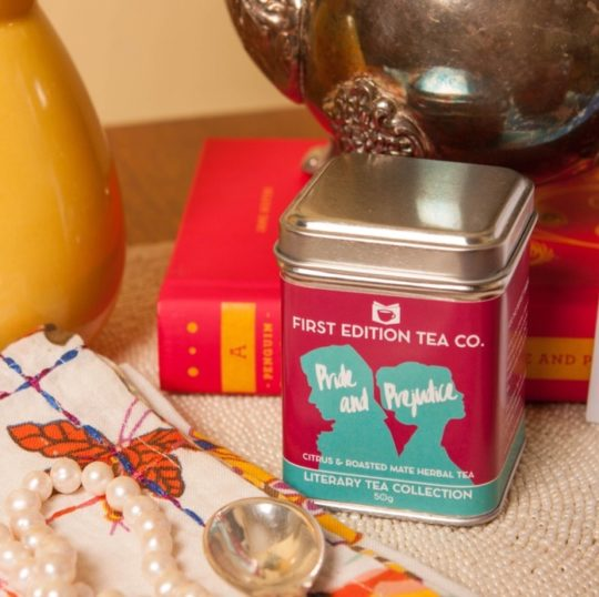 First Edition Tea literary scented teas for your mother