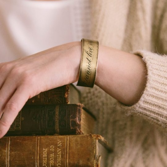 Jezebel Charms - I Cannot Live Without Books bracelet