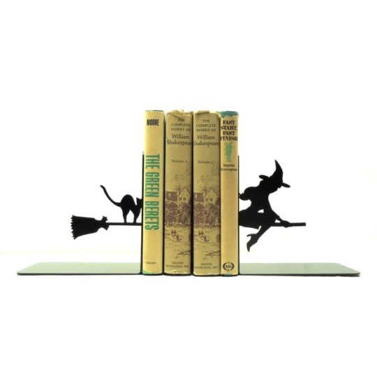Knob Creek Metal Arts - Witch bookends