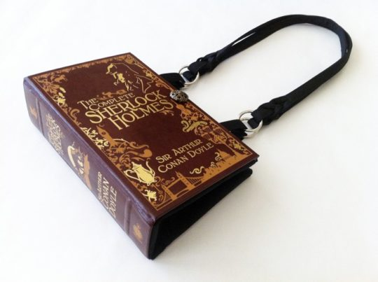 Novelty Creations - Sherlock Holmes book purse