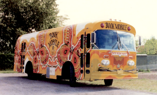 Libraries on wheels: One of the bookmobiles of the Calgary Public Library