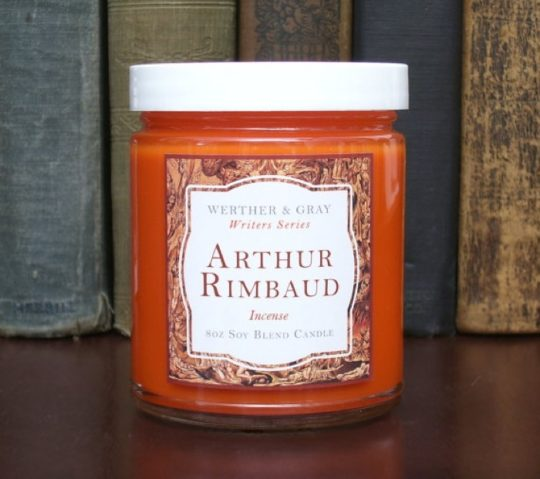 Werther & Gray - Arthur Rimbaud literary scented candle